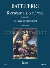 Four-, Five- & Six-part Ricercares (Bologna 1669) for Organ or Harpsichord