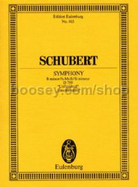 Symphony No.8 in B Minor, D759 (Orchestra) (Study Score)