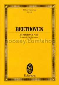 Symphony No.8 in F Major, Op.93 (Orchestra) (Study Score)