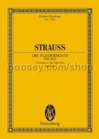 "Overture from ""Die Fledermaus"", Op.362 (Orchestra) (Study Score)"