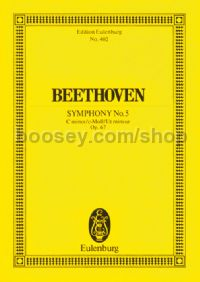 Symphony No.5 in C Minor, Op.67 (Orchestra) (Study Score)