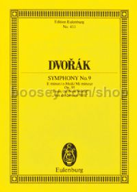 Symphony No.9 in E Minor, Op.95 (Orchestra) (Study Score)