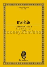 Symphony No.8 in G Minor, Op.88 (Orchestra) (Study Score)