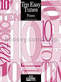10 Easy Tunes for Piano