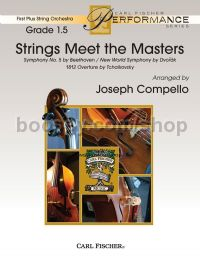 Strings Meet The Masters - Beethoven & Dvorák - String Orchestra (Score & Parts)