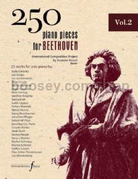 250 Piano Pieces For Beethoven - Vol. 2