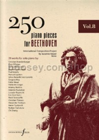 250 Piano Pieces For Beethoven - Vol. 8