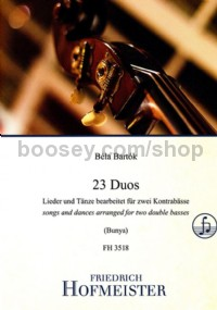23 Duos (Double Bass)