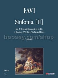 Sinfonia  (score & parts)