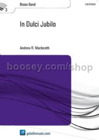 In Dulci Jubilo - Brass Band (Score)