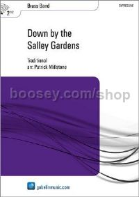 Down by the Salley Gardens - Brass Band (Score & Parts)