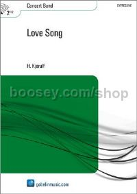 Love Song - Concert Band (Score & Parts)