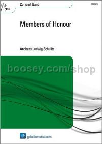 Members of Honour - Concert Band (Score & Parts)