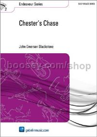 Chester's Chase - Brass Band (Score & Parts)