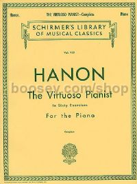 Virtuoso Pianist In Sixty Exercises for the Piano Complete (Schirmer's Library of Musical Classics)