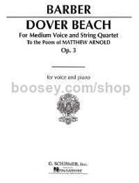 Dover Beach (Voice & Piano Reduction St36673)