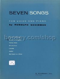 Sound Of Laughter (From Seven Songs) for Medium or High Voice & Piano