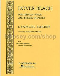 Dover Beach (Comp. String Quartet Parts)
