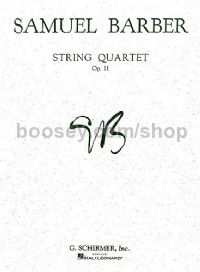 String Quartet Op. 11 Parts