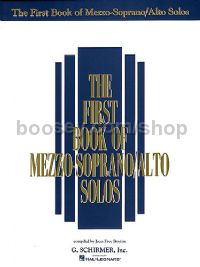 The First Book of Mezzo Soprano/Alto Solos