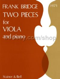 Two Pieces for Viola and Piano