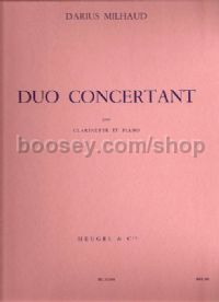 Duo Concertant Clarinet