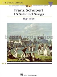 15 Selected Songs (Book & CD) High Voice