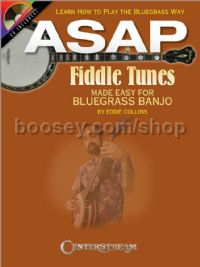Asap Fiddle Tunes For Bluegrass Banjo (Bk & CD)
