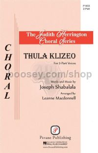 Thula Klizeo - 2-part choir