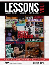 Lessons With The Hudson Greats, Vol. 1 (+ DVD)