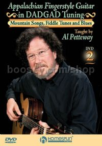 Appalachian Fingerstyle Guitar in DADGAD Tuning 2 (DVD)