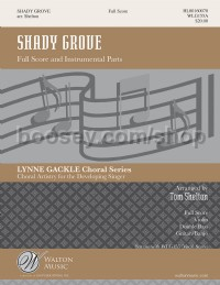 Shady Grove Full Score and Parts (SSA)
