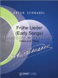Frühe Lieder (Early Songs) - medium voice & piano