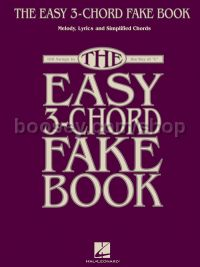 Easy 3 Chord Fake Book for C Instruments