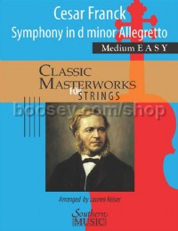 Symphony In D Minor Allegretto (String Orchestra Score & Parts)