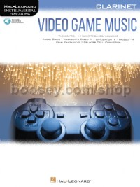Video Game Music for Clarinet (Book & Online Audio)