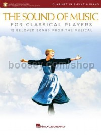 The Sound of Music for Classical Players - Clarinet (Book & Online Audio)