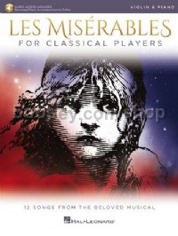 Les Misérables for Classical Players - Violin & Piano (Book & Online Audio)