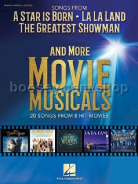 Songs from A Star Is Born, The Greatest Showman, La La Land and More Movie Musicals (PVG)