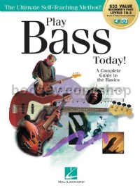 Play Bass Today! All-in-One Beginner's Pack (Book & Online Audio)