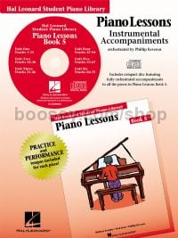 Hal Leonard Student Piano Library: Piano Lessons Book 5 (CD Only)