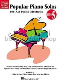 Hal Leonard Student Piano Library: Popular Piano Solos For All Methods 5