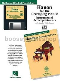 Hal Leonard Student Piano Library: Hanon For The Developing Pianist (General MIDI)