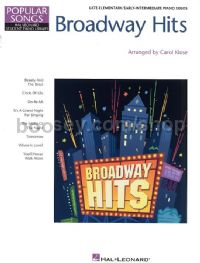 Hal Leonard Student Piano Library: Broadway Hits