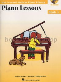 Piano Lessons Book 3 (Book & CD)