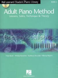 Hal Leonard Adult Piano Method Book 2 (Book & CDs)