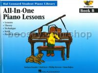 Hal Leonard Student All-In-One Piano Lessons (Book B)