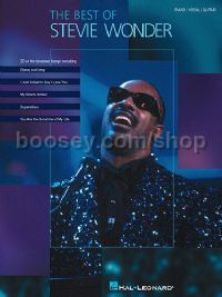 Best Of Stevie Wonder (Piano/Vocal/Guitar)