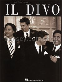 Il Divo (Piano/Vocal/Guitar)