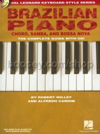 Brazilian Piano - Chôro, Samba, and Bossa Nova (Book & CD)